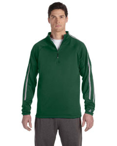 Dark Green/steel Tech Fleece Quarter-Zip Cadet