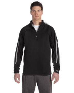 Black/steel Tech Fleece Quarter-Zip Cadet