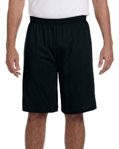 Black 50/50 Jersey Short