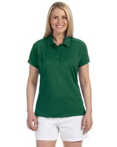 Dark Green Women's Team Essential Polo