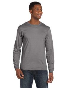 Storm Grey Ringspun Long-Sleeve T-Shirt