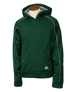 Dark Green/steel Youth Tech Fleece Pullover Hood