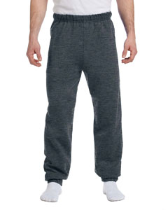 Black Heather 8 oz., 50/50 NuBlend® Fleece Sweatpants