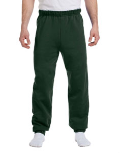 Forest Green 8 oz., 50/50 NuBlend® Fleece Sweatpants