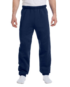J Navy 8 oz., 50/50 NuBlend® Fleece Sweatpants