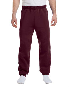 Maroon 8 oz., 50/50 NuBlend® Fleece Sweatpants