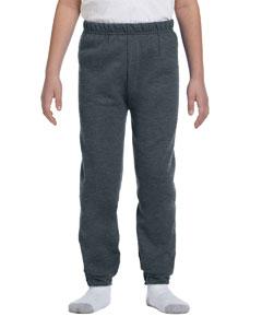 Black Heather Youth 8 oz., 50/50 NuBlend® Sweatpants