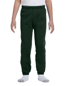 Forest Green Youth 8 oz., 50/50 NuBlend® Sweatpants