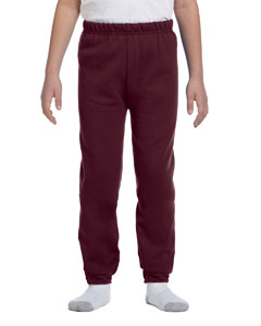 Maroon Youth 8 oz., 50/50 NuBlend® Sweatpants