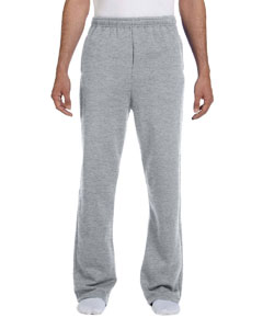 Oxford 8 oz., 50/50 NuBlend® Open-Bottom Sweatpants