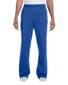 Royal 8 oz., 50/50 NuBlend® Open-Bottom Sweatpants