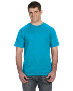 Caribbean Blue Ringspun T-Shirt