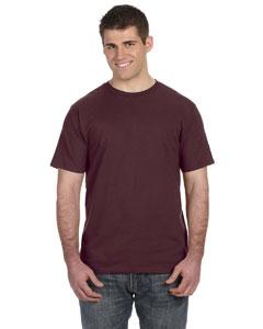 Maroon Ringspun T-Shirt