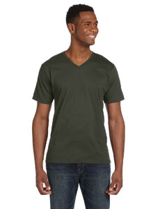 City Green Ringspun V-Neck T-Shirt