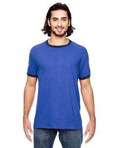 H Blue/ Tr Navy Lightweight Ringer T-Shirt