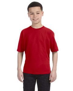 Red Youth Ringspun T-Shirt