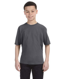 Charcoal Youth Ringspun T-Shirt