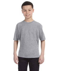 Heather Grey Youth Ringspun T-Shirt