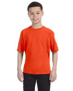 Orange Youth Ringspun T-Shirt