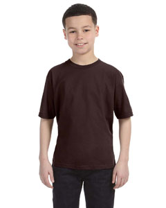 Chocolate Youth Ringspun T-Shirt