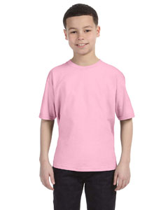 Charity Pink Youth Ringspun T-Shirt