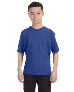 Heather Blue Youth Ringspun T-Shirt
