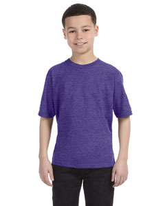 Heather Purple Youth Ringspun T-Shirt
