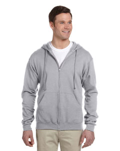 Oxford 8 oz., 50/50 NuBlend® Fleece Full-Zip Hood