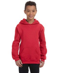 True Red Youth Dri-Power® Fleece Pullover Hood