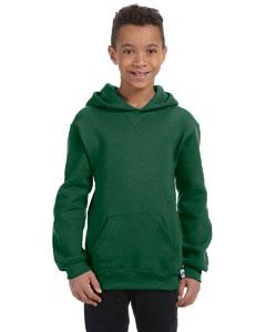 Dark Green Youth Dri-Power® Fleece Pullover Hood