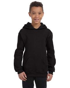 Black Youth Dri-Power® Fleece Pullover Hood