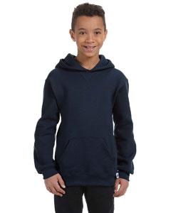 J Navy Youth Dri-Power® Fleece Pullover Hood
