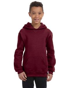 Maroon Youth Dri-Power® Fleece Pullover Hood