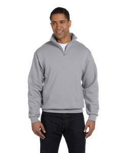 Oxford 8 oz., 50/50 NuBlend® Quarter-Zip Cadet Collar Sweatshirt