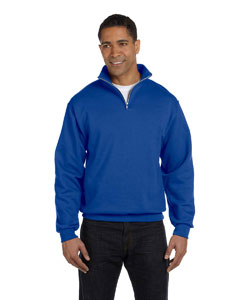 Royal 8 oz., 50/50 NuBlend® Quarter-Zip Cadet Collar Sweatshirt