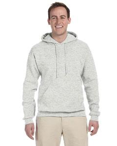 Ash 8 oz., 50/50 NuBlend® Fleece Pullover Hood