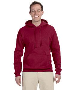 Cardinal 8 oz., 50/50 NuBlend® Fleece Pullover Hood