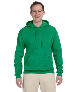Kelly 8 oz., 50/50 NuBlend® Fleece Pullover Hood