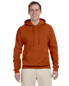Texas Orange 8 oz., 50/50 NuBlend® Fleece Pullover Hood