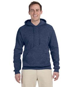 Vintage Hth Navy 8 oz., 50/50 NuBlend® Fleece Pullover Hood