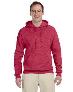 Vintage Hth Red 8 oz., 50/50 NuBlend® Fleece Pullover Hood