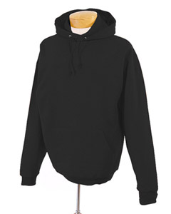 Black Tall 8 oz., 50/50 NuBlend® Fleece Pullover Hood