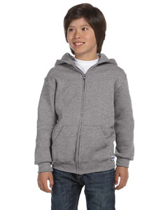 Oxford Youth Dri-Power® Fleece Full-Zip Hood