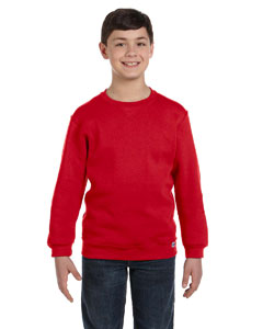 True Red Youth Dri-Power® Fleece Crew