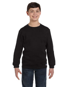 Black Youth Dri-Power® Fleece Crew