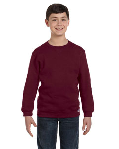 Maroon Youth Dri-Power® Fleece Crew