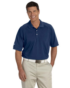 Navy/white Men's ClimaLite® Tour Piqué Short-Sleeve Polo