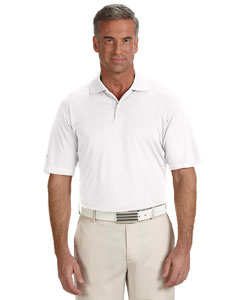 White Men's ClimaLite® Contrast Stitch Polo