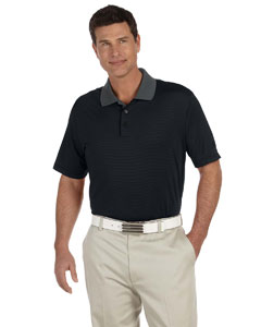 Black/matrix Men's ClimaLite® Classic Stripe Short-Sleeve Polo