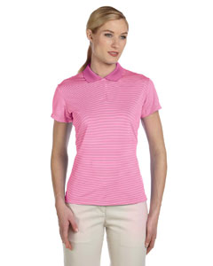 Habiscus/tea Rose Women's ClimaLite® Classic Stripe Short-Sleeve Polo